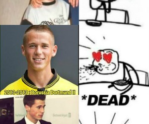 dortmund, handsome, and cute image