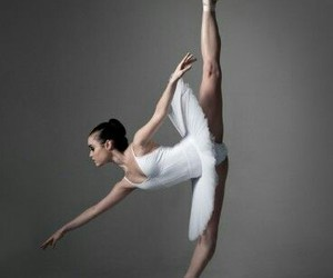 ballerina, dance, and movement image