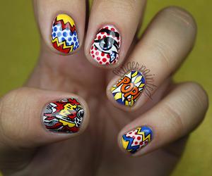 nails, comic, and art image