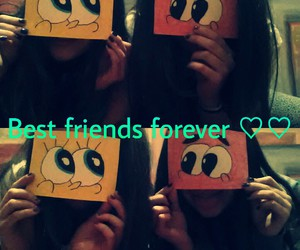 best friends, forever, and togethere image