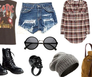grunge, rock, and star image