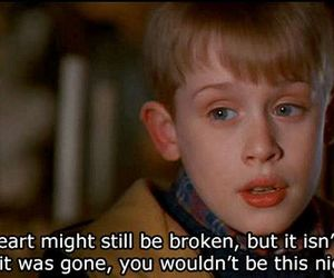 quote, heart, and home alone image