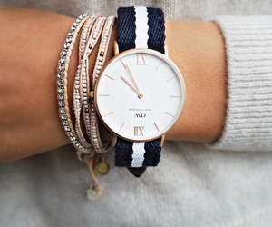 watch, style, and daniel wellington image