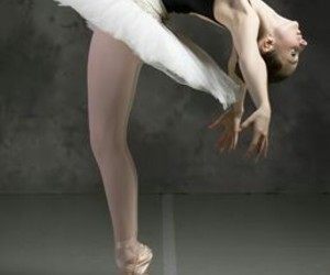 ballerina, motion, and ballet image