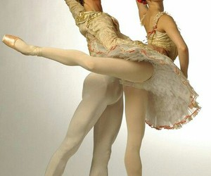 ballerina, beautiful, and dance image
