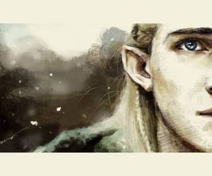 dessin, Legolas, and my pale beauty image
