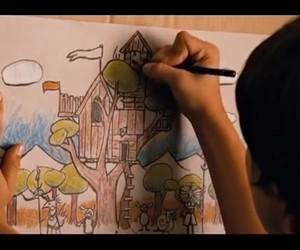 drawing, josh hutcherson, and pencil image