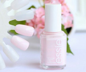 nail polish, pink, and nails image
