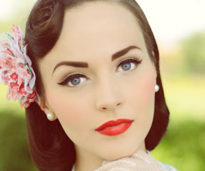 vintage, beauty, and hair image