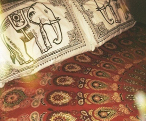 elephant, bed, and indie image