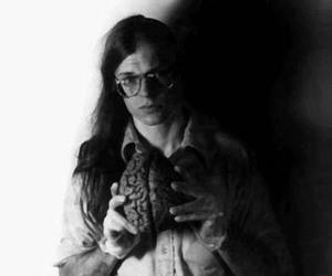 alex grey, b&w, and brain image