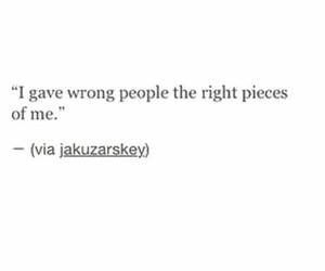 quote, broken, and sad image