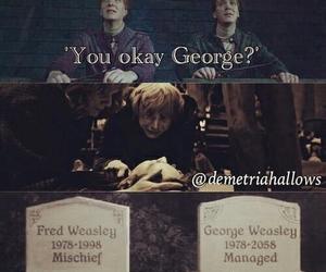 Fred, george, and sad image