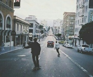 boys, calles, and skate image