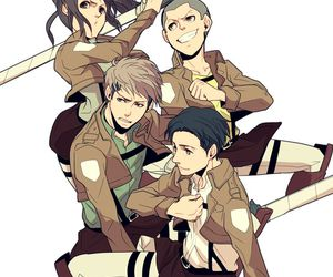attack on titan, anime, and jean image