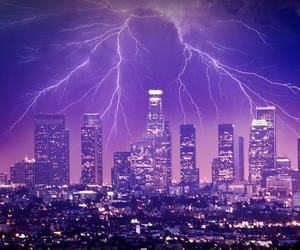 beautiful, lightning, and citty image