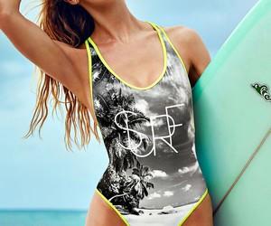 Victoria's Secret, summer, and surf image