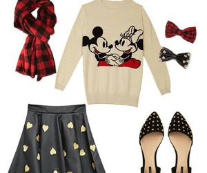 bows, forever 21, and skirt image