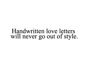 love, style, and letters image