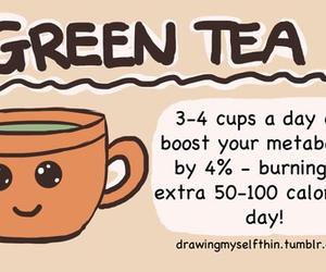 green tea, healthy, and tea image