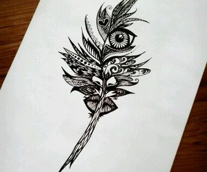 black, draw, and inspiration image