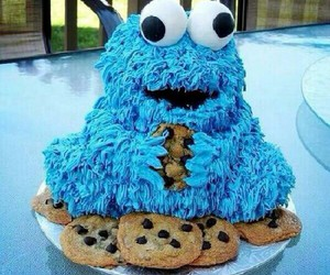 food, cake, and cookie image