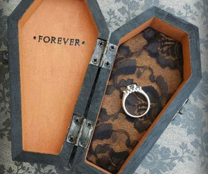 forever, ring, and marriage image