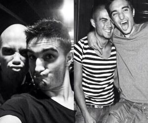 the wanted, max george, and tom parker image