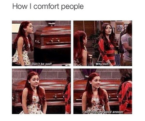 funny, ariana grande, and victorious image