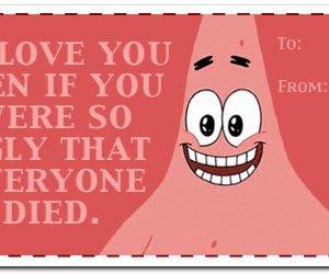 patrick, love, and spongebob image