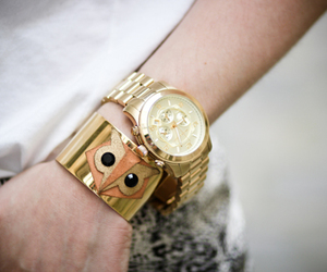arm, jewelry, and gold image