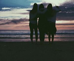 beautiful, friendship, and girls image