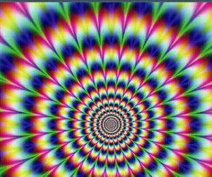 colors, dubstep, and flowers image