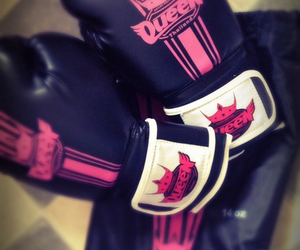 boxing, match, and gloves image