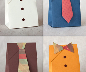 diy, gift, and tie image