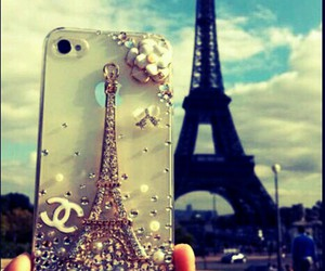 iphone cover eiffel image