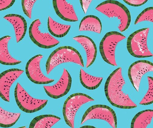 background, fruit, and pink image