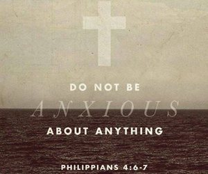 anxious, quote, and god image