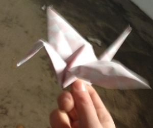 ?, happieness, and origami image
