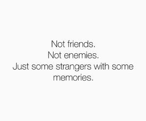 enemies, memories, and not image