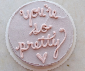 cake, pretty, and pink image