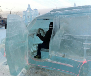 ice and car image
