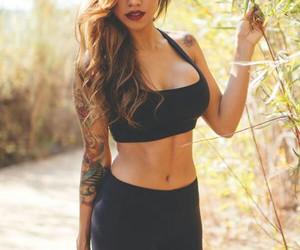 girl, tattoo, and beautiful image