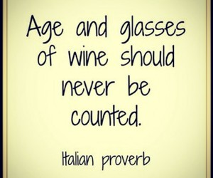 age, glasses, and wine image