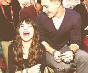 teen wolf, crystal reed, and colton haynes image