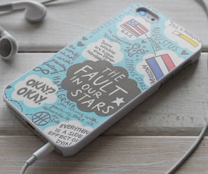 iphone, the fault in our stars, and okay image