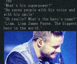 hero, liam payne, and one direction image