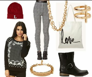 beanie, outfit, and tumblr image