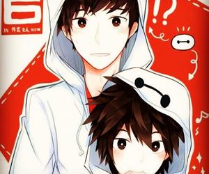 hiro, tadashi, and big hero 6 image