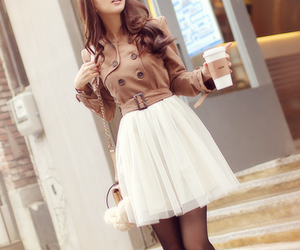 dress, pretty, and fashion image